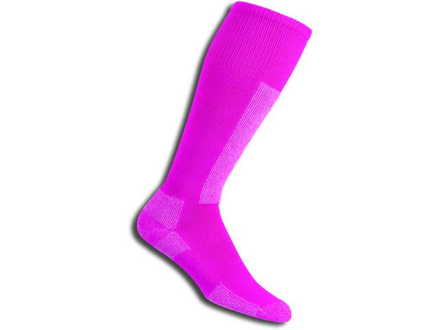 Thorlos Light Weight Ski Chaussettes montantes, schuss pink